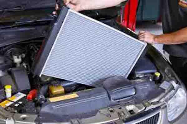 الحفاظ على جهاز تبريد المحرك